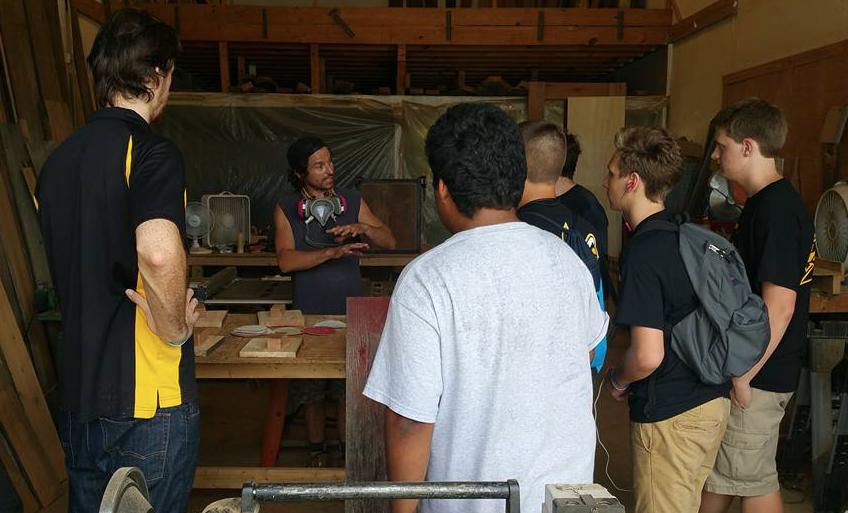 Carpentry Class at SRCS
